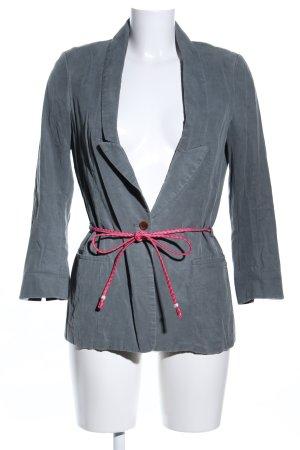 Maison Scotch Long-Blazer hellgrau-pink Casual-Look