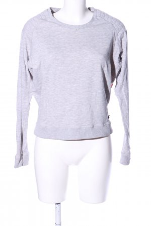 Maison Scotch Longsleeve hellgrau-pink Allover-Druck Casual-Look