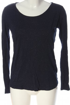 Maison Scotch Longsleeve schwarz Casual-Look