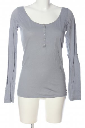 Maison Scotch Longsleeve hellgrau Casual-Look