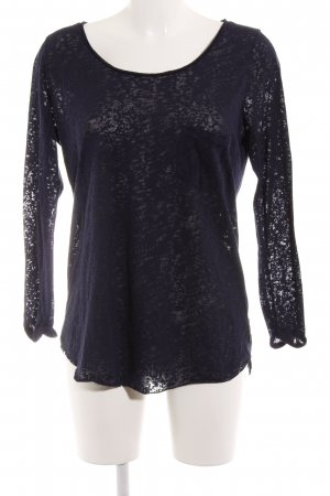Maison Scotch Longsleeve dunkelblau Casual-Look