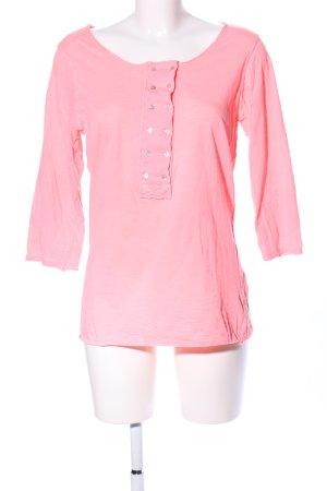 Maison Scotch Longsleeve pink Casual-Look
