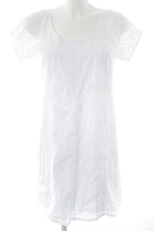 Maison Scotch Minikleid weiß
