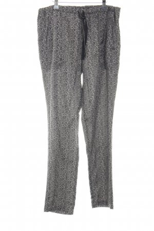 Maison Scotch Palazzo Pants white-black mixed pattern casual look