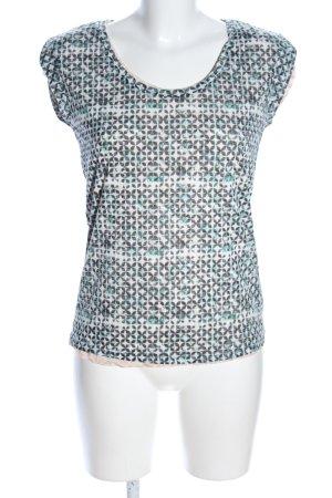 Maison Scotch Print-Shirt Allover-Druck Casual-Look