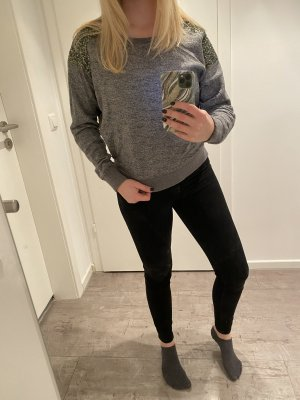 Maison Scotch Pullover Sweatshirt Pailletten