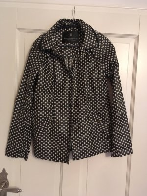 Maison Scotch Imperméable noir-blanc