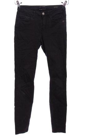 Maison Scotch Drainpipe Trousers black casual look