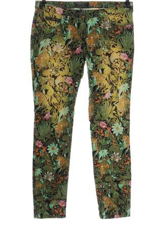Maison Scotch Drainpipe Trousers allover print casual look