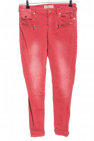 Maison Scotch Tube Jeans pink casual look