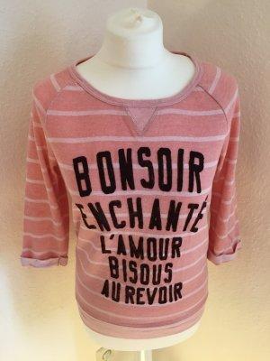 Maison Scotch rosa-weiß gestreift