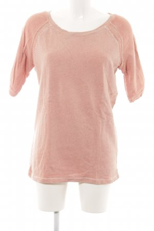Maison Scotch Rundhalspullover nude Casual-Look