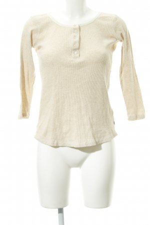 Maison Scotch Rundhalspullover creme-wollweiß Casual-Look