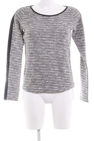Maison Scotch Rundhalspullover meliert Casual-Look