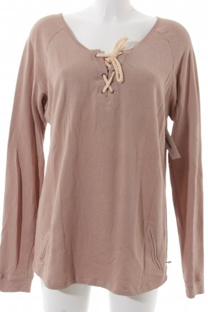 Maison Scotch Rundhalspullover rosa Casual-Look