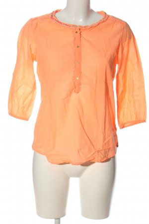 Maison Scotch Schlupf-Bluse hellorange Casual-Look
