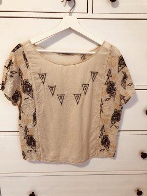 Maison Scotch Shirt-Bluse einmal