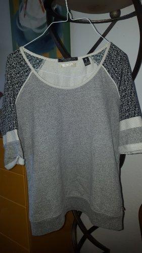 Maison Scotch Rugby Shirt light grey-black cotton