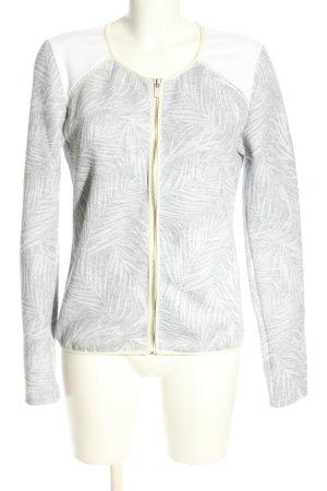 Maison Scotch Veste chemise gris clair-blanc imprimé allover