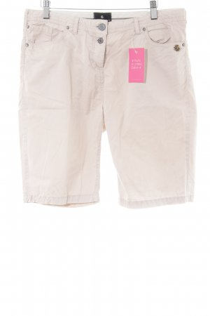 Maison Scotch Shorts altrosa Logo-Applikation