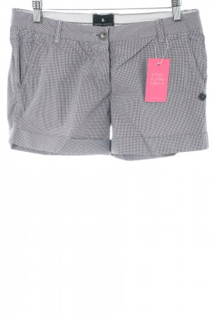 Maison Scotch Shorts hellgrau Allover-Druck Business-Look
