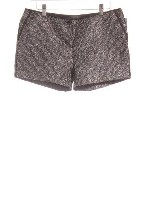 Maison Scotch Shorts schwarz-silberfarben meliert Elegant