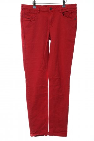 Maison Scotch Skinny Jeans rot Casual-Look