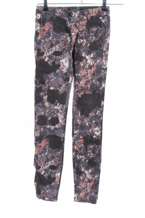 Maison Scotch Skinny Jeans abstraktes Muster Casual-Look