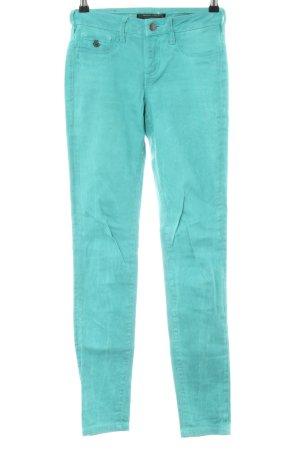 Maison Scotch Skinny Jeans türkis Casual-Look
