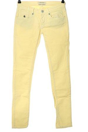 Maison Scotch Jeans skinny jaune primevère style décontracté