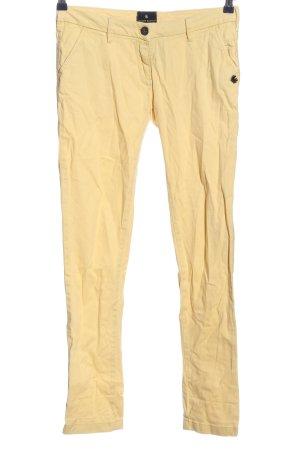 Maison Scotch Skinny Jeans blassgelb Casual-Look
