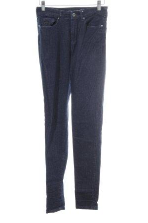 Maison Scotch Skinny Jeans dunkelblau meliert Casual-Look