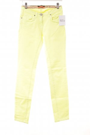 Maison Scotch Skinny Jeans gelb Casual-Look