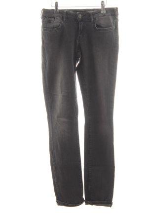 Maison Scotch Skinny Jeans grau-silberfarben Jeans-Optik