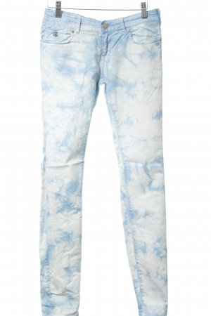 Maison Scotch Skinny Jeans himmelblau-weiß extravaganter Stil