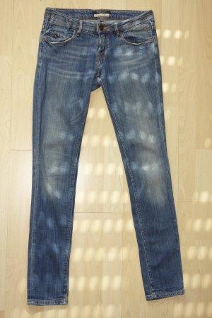 MAISON SCOTCH skinny Jeans in blau Gr.26/32