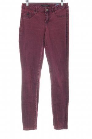 Maison Scotch Skinny Jeans karminrot Casual-Look