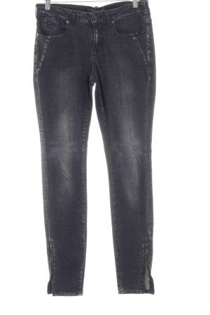 Maison Scotch Skinny Jeans schwarz Jeans-Optik