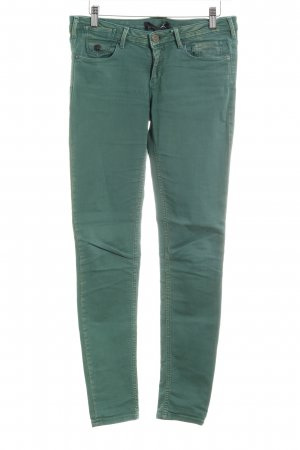 Maison Scotch Skinny Jeans waldgrün klassischer Stil