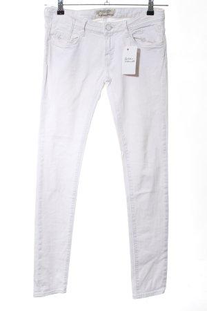 Maison Scotch Skinny Jeans weiß Casual-Look