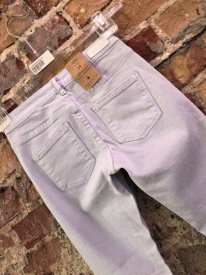 Maison Scotch Jeans skinny gris clair coton