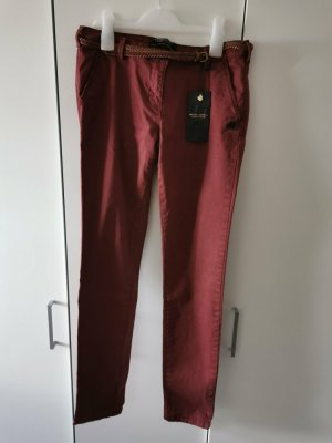 Maison Scotch Low Rise Jeans carmine cotton