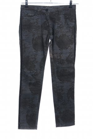 Maison Scotch Slim Jeans abstraktes Muster Casual-Look