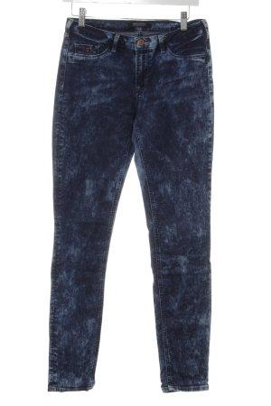 Maison Scotch Slim Jeans blau Farbverlauf Street-Fashion-Look