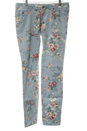 Maison Scotch Slim Jeans florales Muster Romantik-Look