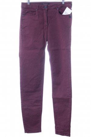 Maison Scotch Slim Jeans karminrot Casual-Look