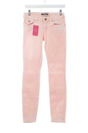 Maison Scotch Slim Jeans lachs-hellrosa extravaganter Stil