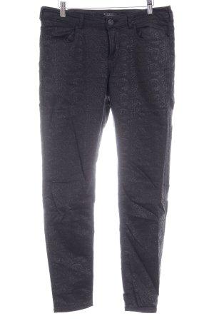 Maison Scotch Slim Jeans schwarz Allover-Druck Casual-Look