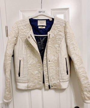 Maison Scotch & Soda leichte Damen Jacke Übergangsjacke Ecru Baumwolle Gr. 34-36/XS-S