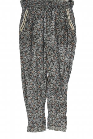 Maison Scotch Jersey Pants black-natural white allover print casual look